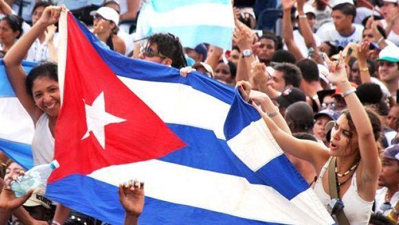 La buena nueva se suma a otra aún mejor, ya difundida, sobre la decisión de dedicar la gran cita juvenil al Comandante en Jefe Fidel Castro Ruz. Foto: Radio Rebelde.