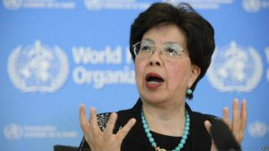 La directora general de la OMS, Margaret Chan. Foto: AP.