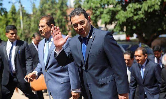 El presidente de Honduras, Juan Orlando Hernández. Foto: EFE.