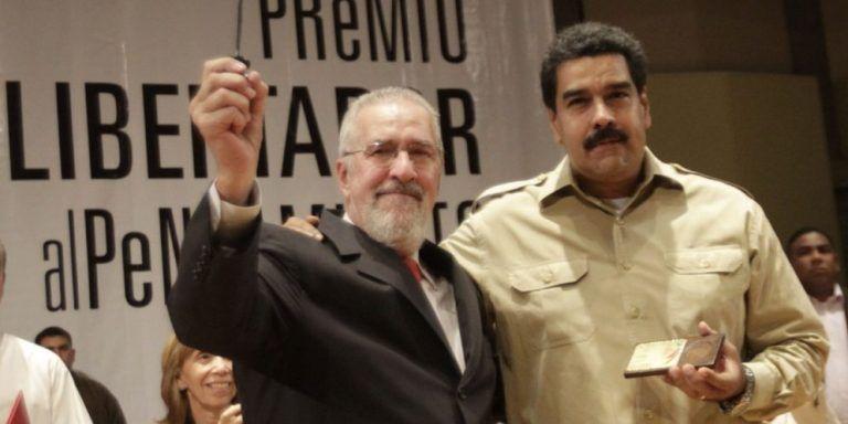 Tanto nuestra solidaridad con Borón como con la revolución bolivariana es profunda por su contenido de clase, revolucionario y popular. Foto: pulsodelospueblos.com