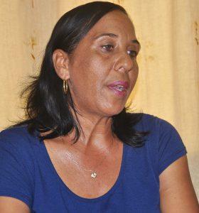 Iraida Zayas González, directora del sector de la Cultura