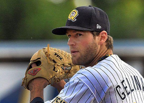 Karl Gelinas, primer bate y lanzador de Quebec, maniató a los cubanos que perdieron 11-3. Foto: Canadian Baseball Network.