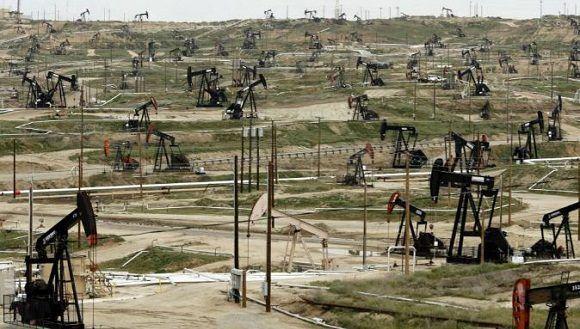 El precio del barril tipo West Texas, de referencia en Estados Unidos, se afianza por debajo de la barrera de los 50 dólares perdida en sesiones anteriores. Su cotización se desinfla hasta los 47 dólares. Foto: Expansion.com.