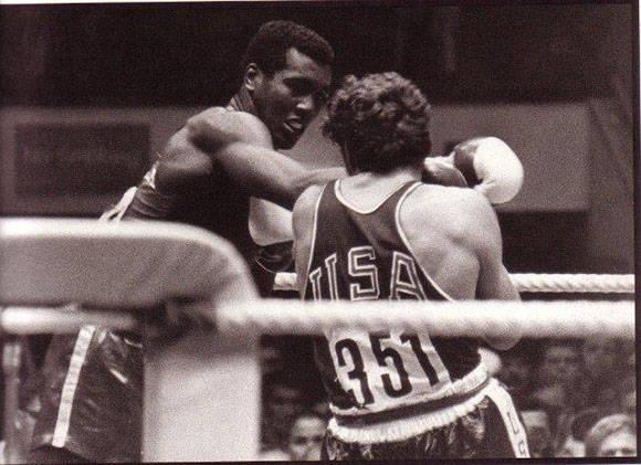 Teófilo Stevenson y Duane Bobick. Foto: Archivo.