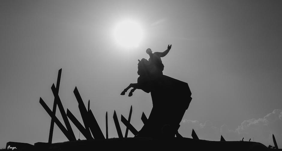 Maceo sostuvo la dignidad nacional en Baraguá. Foto: Archivo.