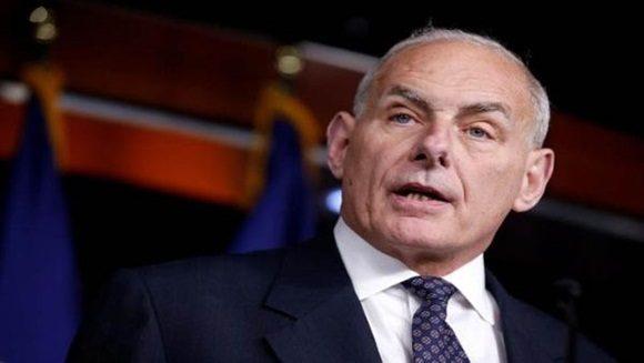 Kelly era el secretario de Seguridad Nacional de la Administración Trump. | Foto: Reuters.