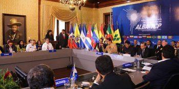 El ALBA-TCP apoyó la Asamblea Constituyente en Venezuela y condenó las sanciones que impone el gobierno de los Estados Unidos contra ciudadanos venezolanos. Foto: Prensa Miraflores.