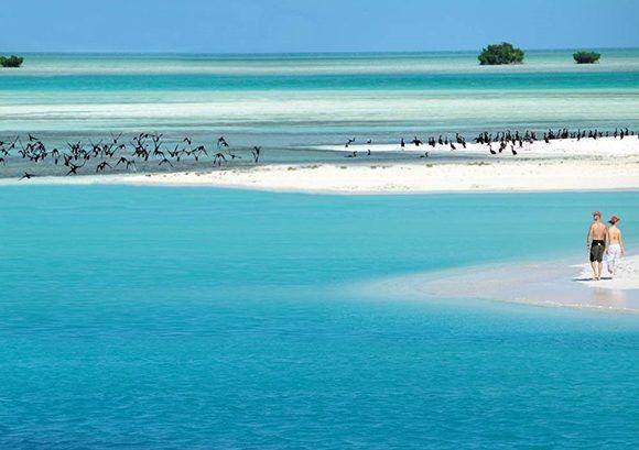 Cayo Largo, Cuba. Foto: Oficina de Turismo de Cuba.