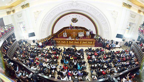 Asamblea Constituyente en Venezuela. Foto @DrodriguezVen.