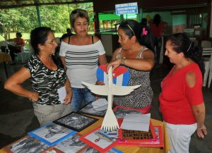 El legado de Fidel estuvo presente en esta colección fotográfica de Soraida, una de las más premiadas