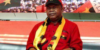 El candidato presidencial Joao Lourenzo sería electo por el 68 por ciento de los votos válidos, según una encuesta sobre las elecciones en Angola. Foto: AFP.