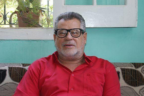 """Juan Gómez Barranco, más conocido en los círculos de casineros de Cuba y allende sus mares como """"Juanito el Abuelo"""". Foto cortesía del autor."""
