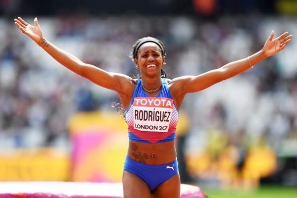 Yorgelis. Foto: IAAF.