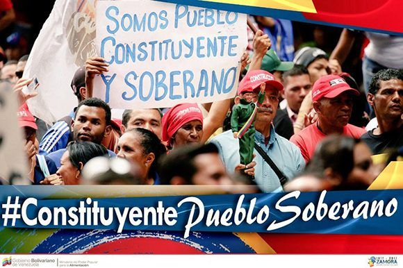 En Venezuela triunfó la Constituyente. Foto: @NicolasMaduro/ Twitter.
