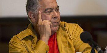 Danny Rivera durante una conferencia de prensa en Cuba. Foto: Ismael Francisco/ Cubadebate.