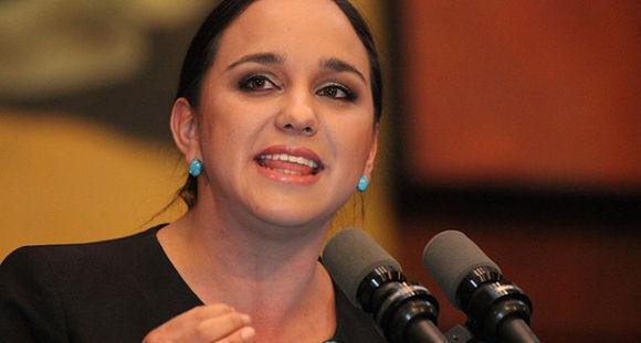Gabriela Rivadeneira. Foto: Periódico Expectativa.