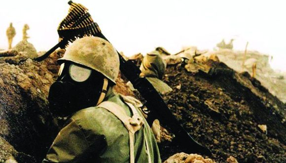 Soldado iraní durante la guerra Irán-Iraq. Foto: Wikipedia