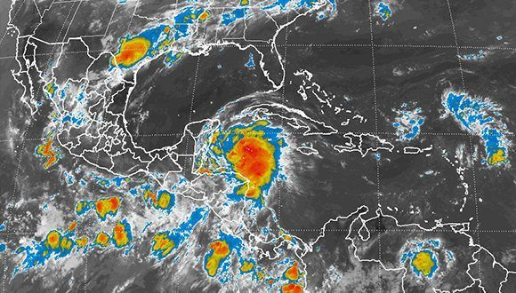 Se fortalece tormenta tropical 'Franklin'