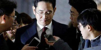 El Vicepresidente de Samsung, Lee Jae-Yong está acusado de soborno, perjurio, malversación de fondos y ocultación de activos en el extranjero.