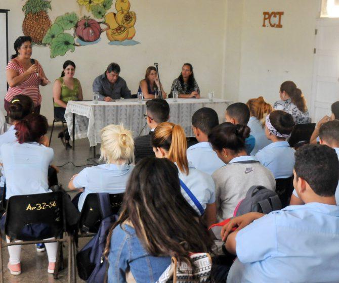 Intercambio Diputados estudiantes preuniversitarios 2