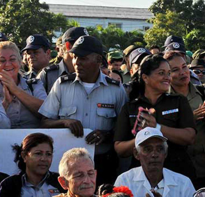 Acto por el Triunfo de la Revolución en el Pinero (13)