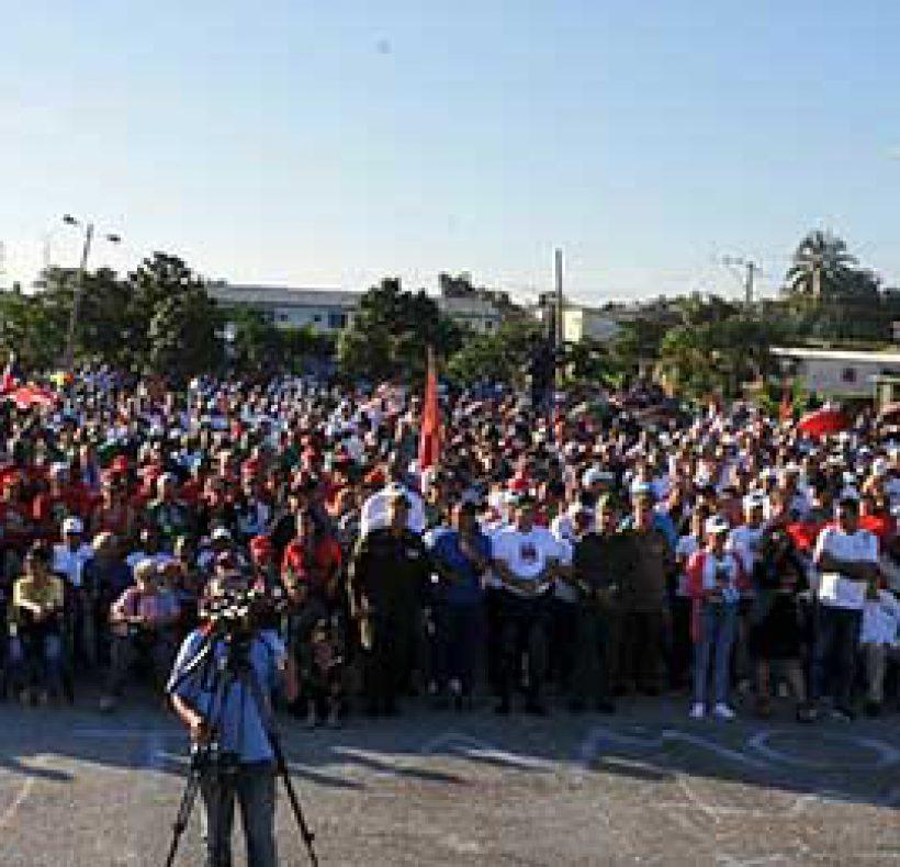 Acto por el Triunfo de la Revolución en el Pinero (90)