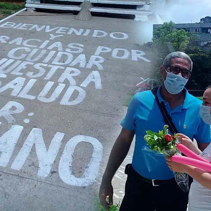 Recibimiento dr Mariano Portada