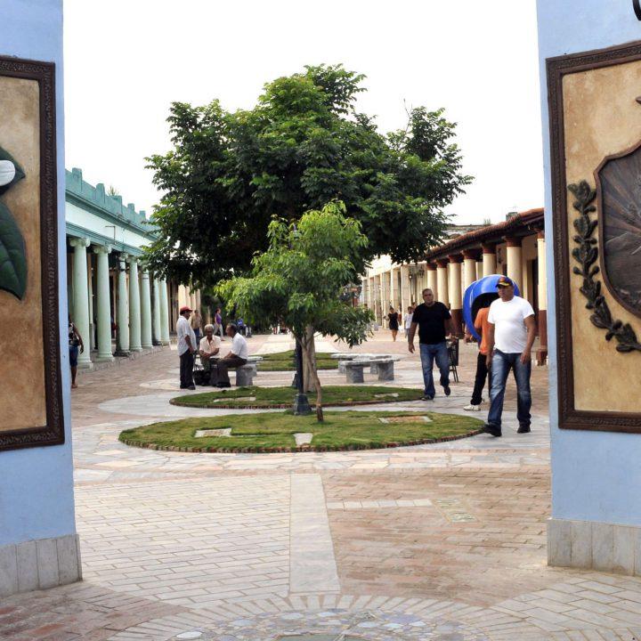 Fotos de la Isla de La Juventud.Bulevar de la Isla