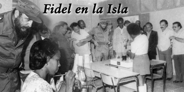 Fidel en la Isla1