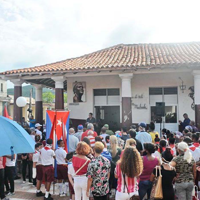 Aniversario 67 del asalto al cuartel Moncada y Carlos Manuel de Céspedes.Foto Yoandris Delgado Matos (2)