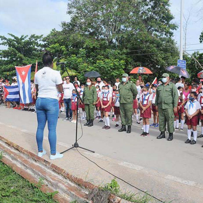 Aniversario 67 del asalto al cuartel Moncada y Carlos Manuel de Céspedes.Foto Yoandris Delgado Matos (8)
