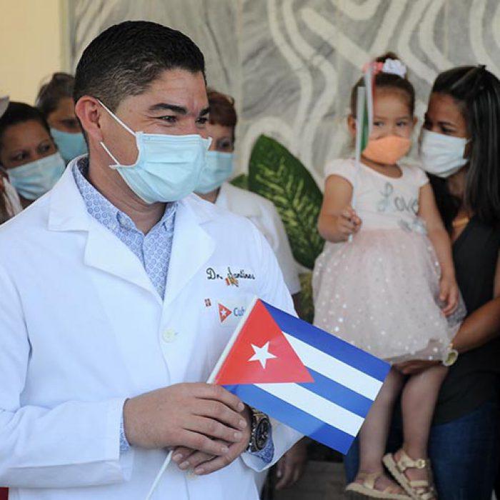 Llegada al territorio de médico internacionalista, fotos Yesmanis Vega Ávalos_3