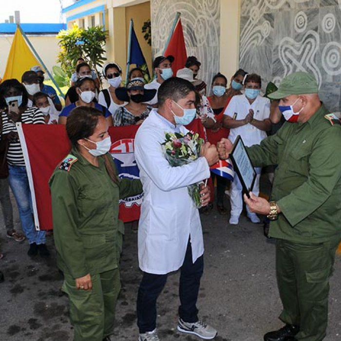 Llegada al territorio de médico internacionalista, fotos Yesmanis Vega Ávalos_5