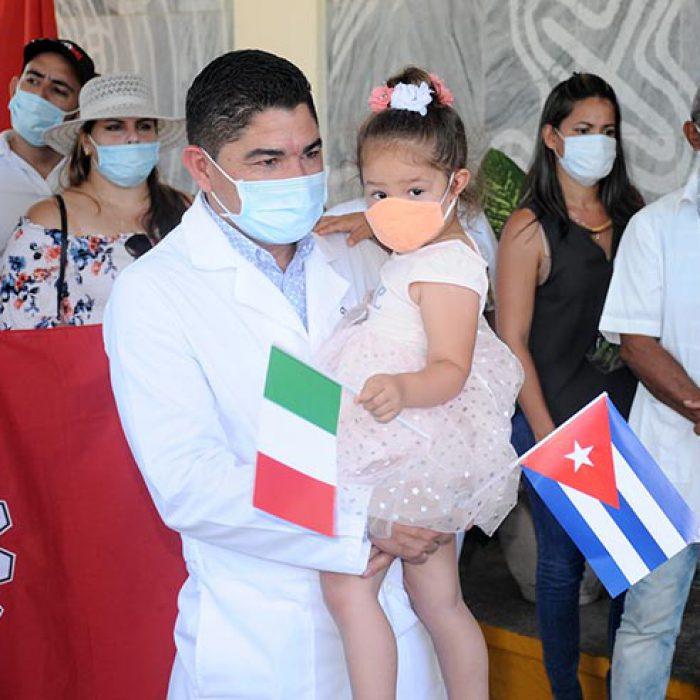 Llegada al territorio de médico internacionalista, fotos Yesmanis Vega Ávalos_6