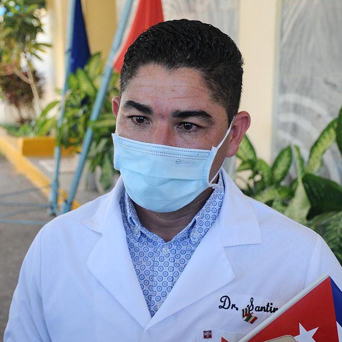 Llegada al territorio de médico internacionalista, fotos Yesmanis Vega Ávalos_7