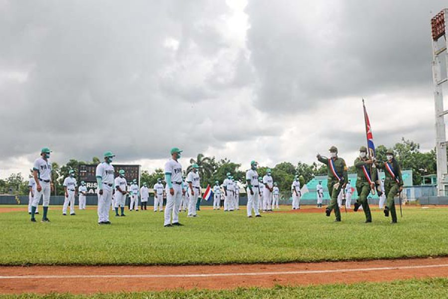 Abanderamiento equipo de béisbol IJ.Fotos Yoandris Delgado Matos (25)