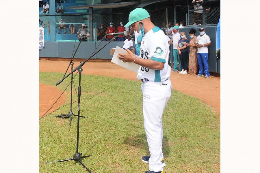 Abanderamiento equipo de béisbol IJ.Fotos Yoandris Delgado Matos (27)