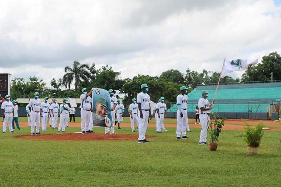 Abanderamiento equipo de béisbol IJ.Fotos Yoandris Delgado Matos (31)