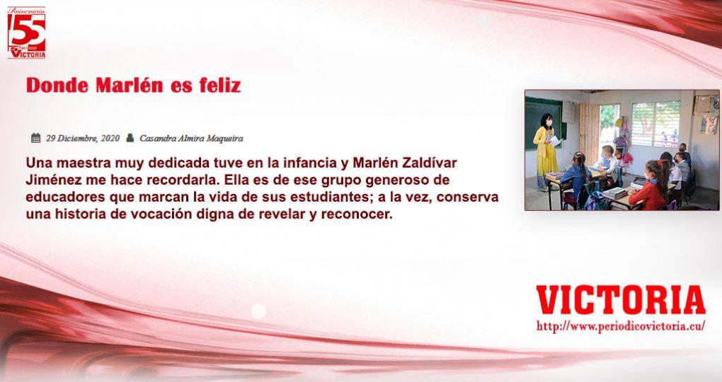 Donde Marlén es feliz –