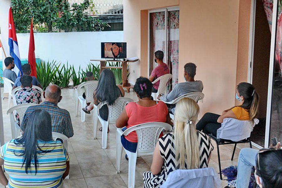 Homenaje a Martí desde la casa de los niños sin amparo filial.fotos Yoandris Delgado Matos (1)