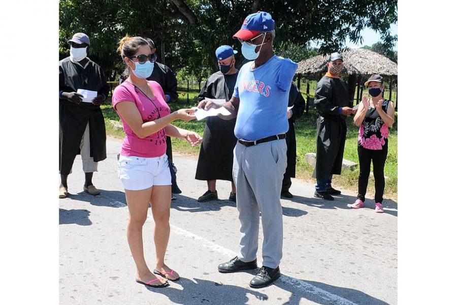 Doctora de la comunidad.Foto Yoandris Delgado Matos