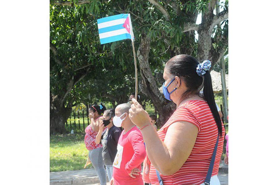 Mi bandera. Foto Yoandris Delgado Matos