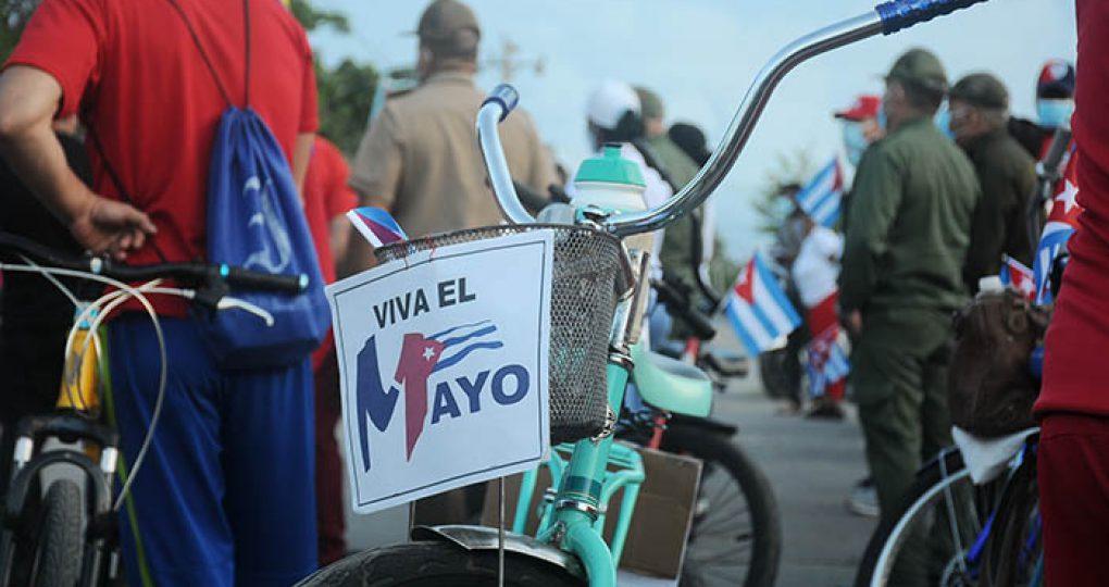Caravana por el 1ro de Mayo, fotos Yesmanis Vega Ávalos_01