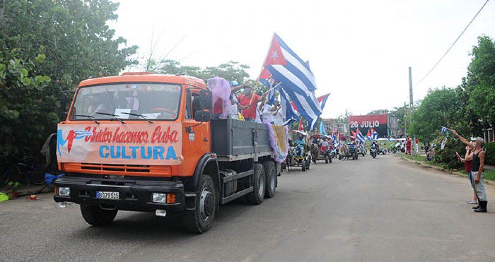 Caravana por el 1ro de Mayo, fotos Yesmanis Vega Ávalos_16
