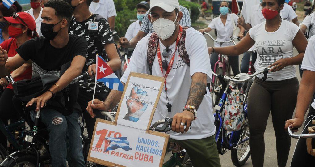 Caravana por el 1ro de Mayo, fotos Yesmanis Vega Ávalos_17