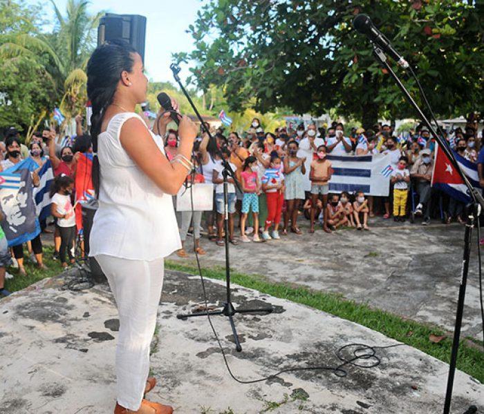 Cantata revolucionaria en la Victoria.Fotos Yoandris Delgado Matos (4)