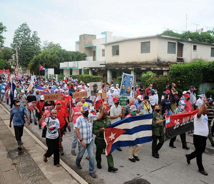 Marcha contra el imperialismo.Foto Yoandris Delgado Matos