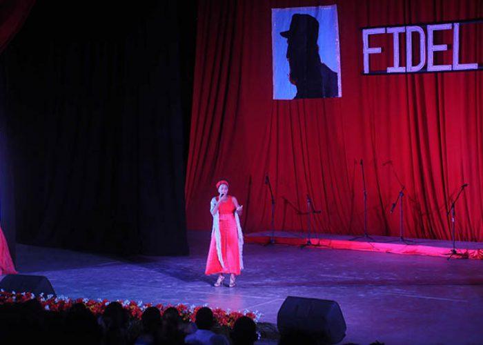 Gala por el 95 nv del natalicio de Fidel, fotos Yesmanis Vega Àvalos_4