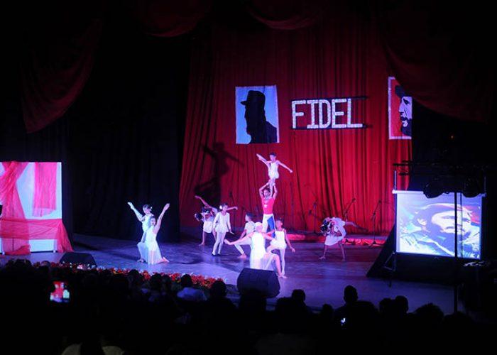 Gala por el 95 nv del natalicio de Fidel, fotos Yesmanis Vega Àvalos_7