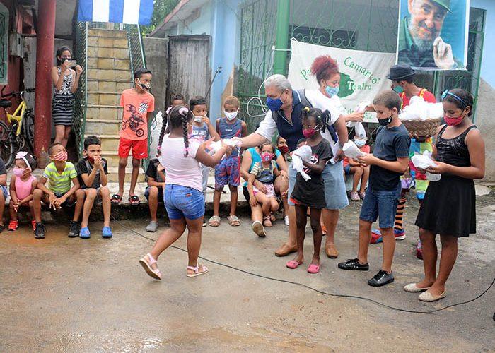 Actividades para los niños en víspera del aniversario 61 de los CDR.Fotos Yoandris Delgado Matos (17)